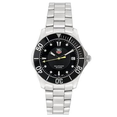 4d229b6ef954 TAG Heuer Men s WAB1110.BA0800 2000 Aquaracer Quartz Watch