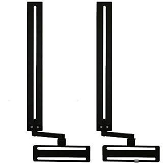 Soundbar Speaker Mount with Depth Adjustments for TV Wall Mount Brackets (B00LPUWKR0) | Amazon price tracker / tracking, Amazon price history charts, Amazon price watches, Amazon price drop alerts