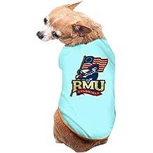 Pets Robert Morris University RMU Robert Morris Colonials Logo Tshirts SkyBlue