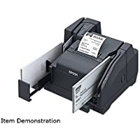 Epson A41A267021 TM-S9000 Multifunction Scanner-Printer 110DPM 1 Pocket USB Hub MSR - Color Dark Gray