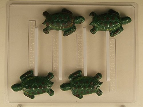Sea Turtle Lollipops AO210 All Occasion Chocolate Candy Mold