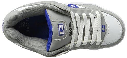 Globe Scribe - Zapatillas de casa Hombre Gris (Grey/white/blue)