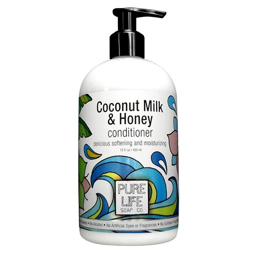 Pure Life Soap Conditioner, Coconut Milk and Honey, 15 Fluid - Pure Conditioner Soap Life