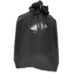TashiBox 42 Gal Heavy Duty Trash Bags - 28 Count - 2.2 mil - Contractor Cleaning Up Bags, Lawn Leaf Bags.