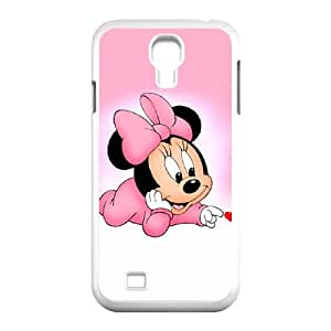 Samsung Galaxy S4 9500 Cell Phone Case White Disney Mickey Mouse Minnie Mouse H3700574