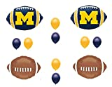 MICHIGAN Football Game Day Birthday Party Balloons Decorations Supplies College University