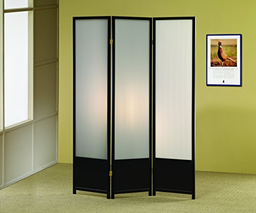 Coaster Home Furnishings 3-Panel Folding Floor Screen