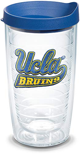 Tervis 1060849 UCLA Bruins Logo Tumbler with Emblem and Blue Lid 16oz, Clear ()