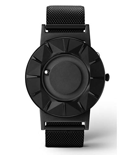 EONE Bradley Element Black Steel Ceramic Quartz Watch