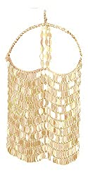 Gold Masquerade Mask Chain