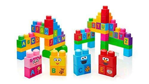 Mega Bloks Lets Build Sesame Street Buildable Playset