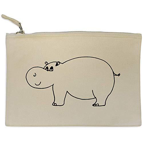 'hipopótamo' De cl00006312 Case Embrague Azeeda Bolso Accesorios OzwdRO