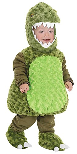 UHC T-Rex Dinosaur Outfit Toddler Fancy Dress Halloween Kids Child Costume, (Scary T Rex)