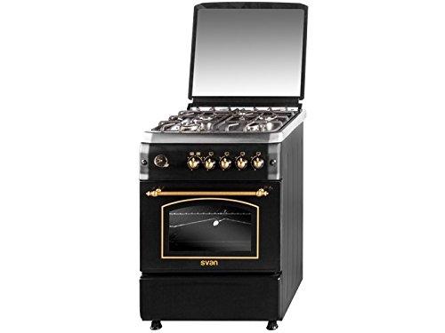 SVAN SVK6601RN - Cocina (Cocina independiente, Negro, Botones ...