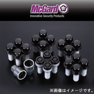 Mack guard bolt installation kit tapered black MCG67222BK M14 x 1.5 20 pieces AUDI · VW, etc. Outside Spec by McGard