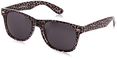 Pink Wayfarer Black Noir Lunettes Femme Sunoptic xXH5qan