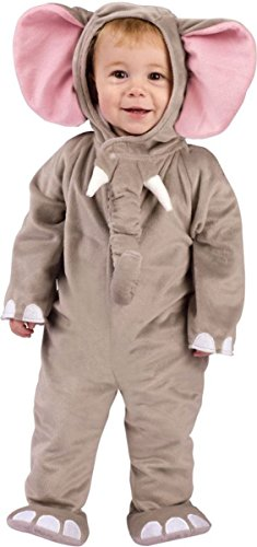 Cuddly Elephant Toddler Costumes (Morris Costumes Baby Girl CUDDLY ELEPHANT INFANT, 6-12M)