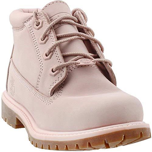 Timberland Women's Waterproof Nellie Chukka Double Boots Light Pink/Rose Size 9 M US