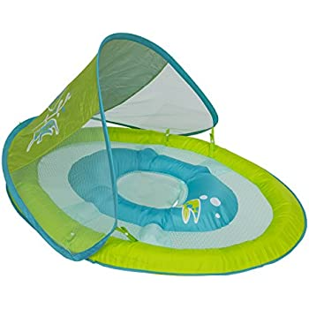 SwimWays Baby Spring Float Sun Canopy, Seahorse