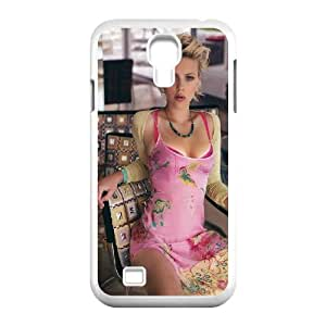 Scarlett Johansson HILDA0074114 Phone Back Case Customized Art Print Design Hard Shell Protection SamSung Galaxy S4 I9500