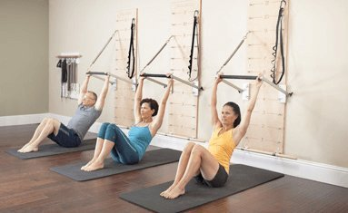 Push-Through Bar Kit for Pilates Springboard(TM) (Red resistance springs) by Balanced Body (Image #1)