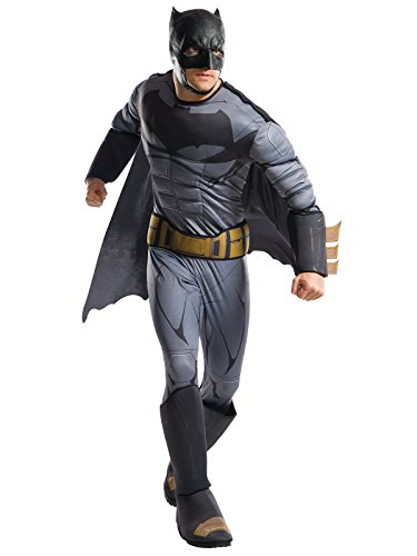 Rubie's Costume Co. Men's Batman Adult Deluxe Costume, As Shown, Standard