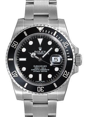 Rolex Submariner Date Black Di