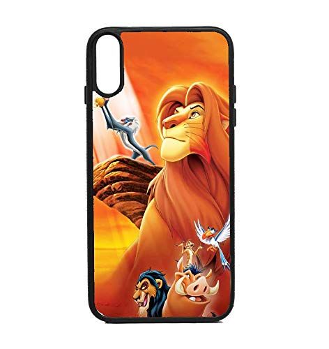 official photos fd514 02bd0 Amazon.com: Phone Case Lion King for iPhone XR: Cell Phones ...