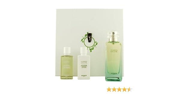Hermes un jardin sur le Nil Unisex, – Set de regalo Eau de Toilette, 100 ml, Gel de Ducha, 40 ml Plus bodylotion, 40 ml, 1er Pack (1 x 3 unidades): Amazon.es: Belleza
