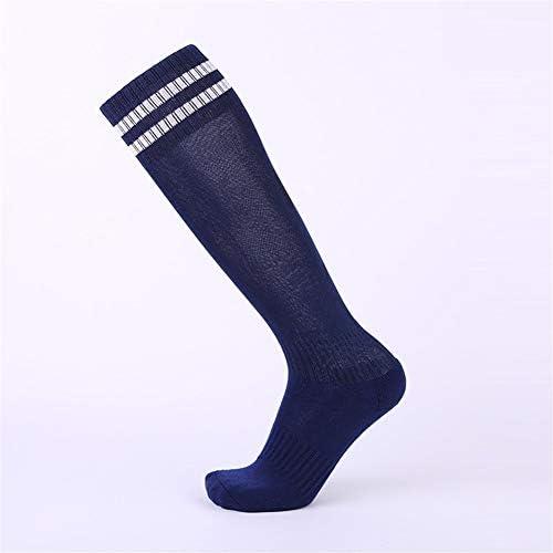 スポーツソックス 靴下 ツーバースポーツソックス厚手のタオルサッカーソックス 汗を吸収するストッキングの選択 (Color : Whiteblack, Style : Ten pairs)