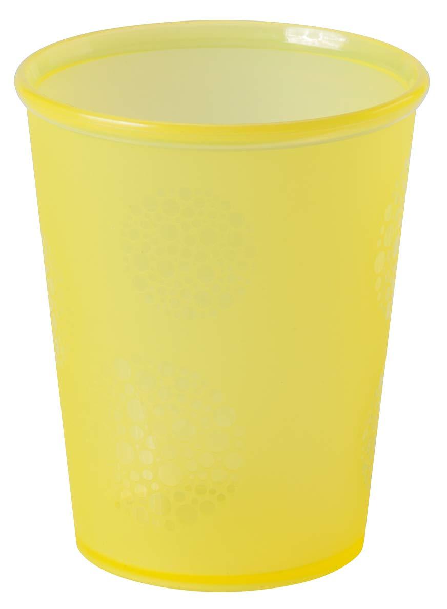 vier Farben Set Dentistar 8 Trinkbecher bunt mit breiter Lippenkante BPA frei 2x 4er Set Becher