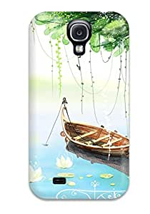Cute Appearance Cover/tpu TLsPGCH15266WTmoi Artistic Abstract Artistic Case For Galaxy S4
