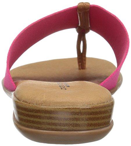 André Assous Womens Belle Sandale Plate Fuchsia