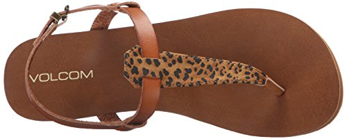 Volcom Women's Maya Sandal Dress Sandal Cheetah ul5tnGb