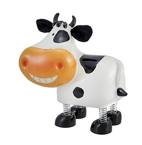 Whimsical Spring Leg Milk Cow Bank