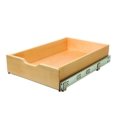 Wood Roll (Knape & Vogt WMUB-14-4-R-ASP Soft-Close Wood Drawer Box, 5