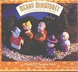 1996 Peanuts Pumpkin Patch Merry Miniatures Set of 5 Hallmark Keepsake Ornament