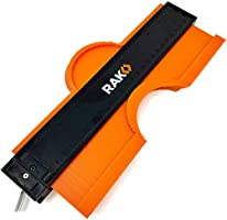 RAK Contour Gauge Shape Duplicator Template Tool with Adjustable Lock Precisely Copies Irregular and Awkward Shapes -...