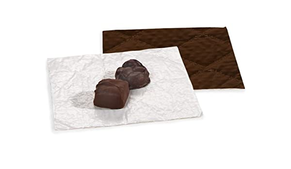 1 unit, 250 pack per unit. CANDY PADS 5-3//8 x 5-3//8CHOCOLATE 3 Ply