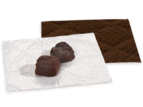 """CANDY PADS 5-3/8 x 5-3/8""""CHOCOLATE 3 Ply (1 unit, 250 pack per unit.)"""