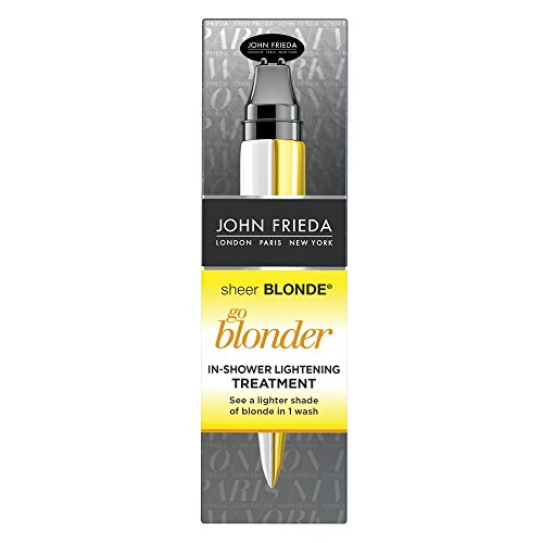 John Frieda Sheer Blonde Go Blonder In-Shower Lightening Treatment, 1.15 Ounces