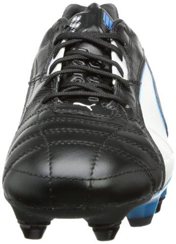 Puma King Mixed SG 102668 - Zapatillas de fútbol para hombre Negro (Schwarz (black-white-fluo blue 06))