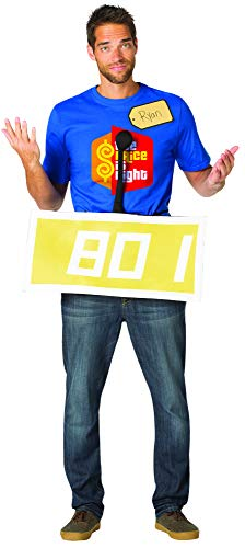 Group Halloween Costumes Tv Shows (Rasta Imposta The Price is Right Yellow Contestant Row Costume, Adult, One-Size,)