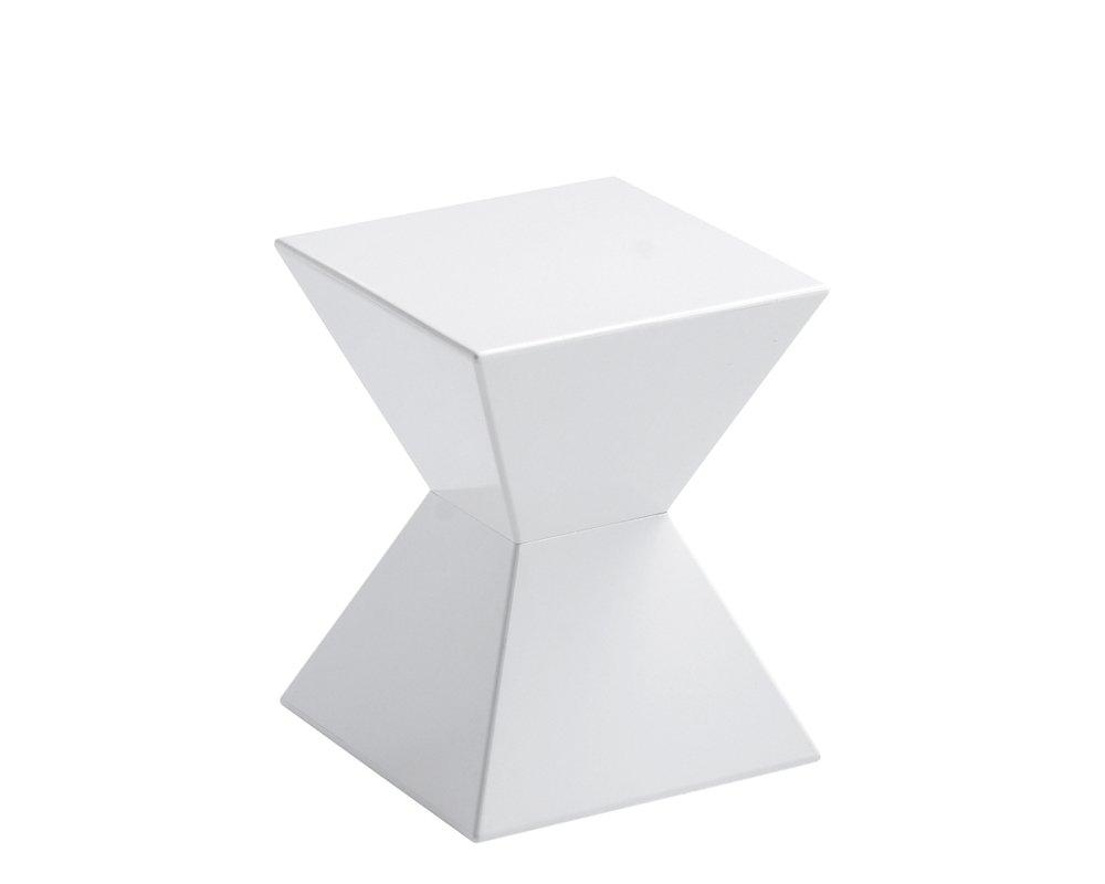 Sunpan Modern Urban Unity End Tables, White by Sunpan Modern