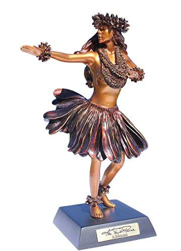 Tikimaster Kiloahinani Hula Dancer Hawaiian Tradition - Kim Taylor Reece Statue