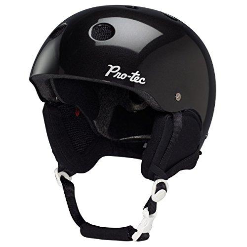 Audio Force Helmet - Pro-tec Women's Audio Force Classic Helmet, Pearl Black, Large