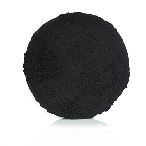 - Chemical Guys BUFX_305_6 6 Inches Optics Microfiber Black Polishing Pad (6.5