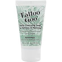 Tattoo Goo Deep Cleansing Soap for Tattoos & Piercings 2oz – New Formula