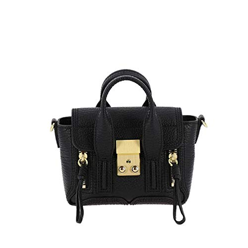 AP18B123SKCBA001 Leather Phillip Handbag Black 3 Women's 1 Lim nY5IISgz