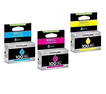 3 x XL Cartuchos de impresora LEXMARK, Multi Pack cartuchos de ...